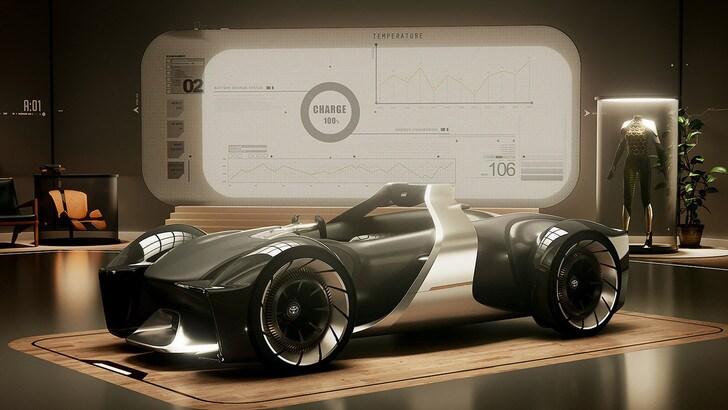 Toyota e-Racer concept, l'emozione si guida ancora