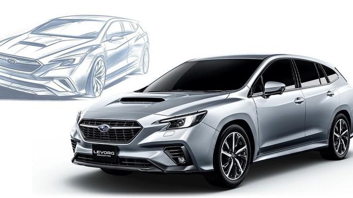 Subaru Levorg 2020, a Tokyo la Prototype