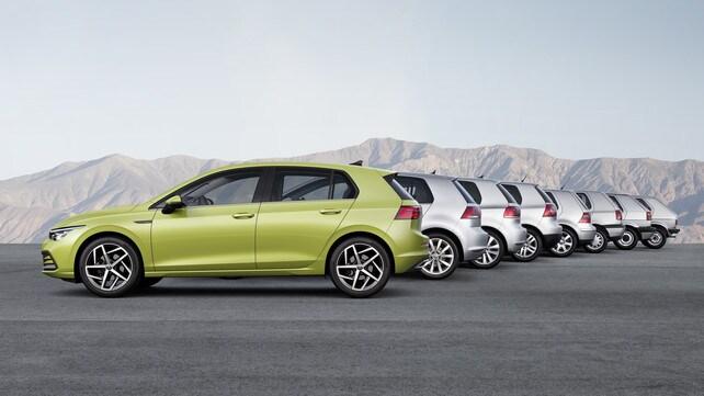 Volkswagen Golf, le 8 serie: ecco le foto