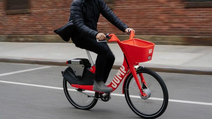 Nasce a Roma il bike sharing Uber Jump