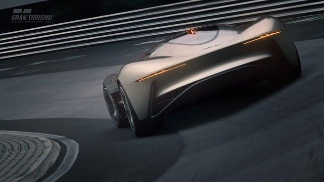 Jaguar Vision Gran Turismo Coupé: gli scatti