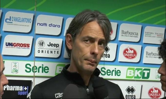 """Filippo Inzaghi: """"Non era il solito Benevento"""""""