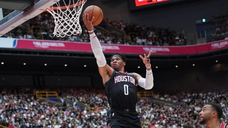 Successi per Rockets, Celtics e Raptors: Westbrook batte Magic