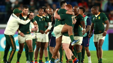 Galles ko, il Sudafrica in finale contro l'Inghilterra nel Mondiale di rugby