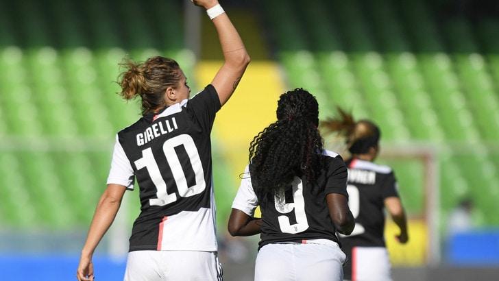 La Juve vola, contro l'Hellas arriva il quinto successo in campionato