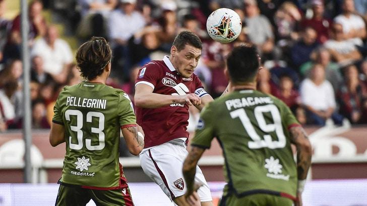 Torino-Cagliari 1-1, il tabellino