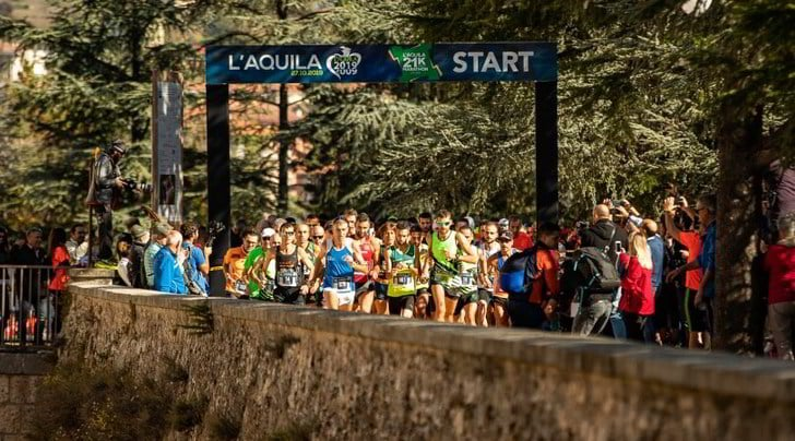 Successo per la Mezza Maratona L'Aquila Città del Mondo