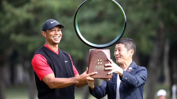 Tiger Woods re allo Zozo Champions: eguagliato Sam Snead