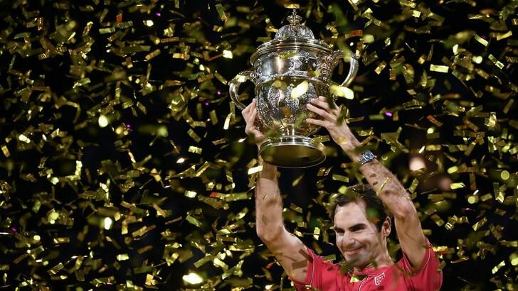 Federer annuncia il forfait per il torneo di Parigi-Bercy