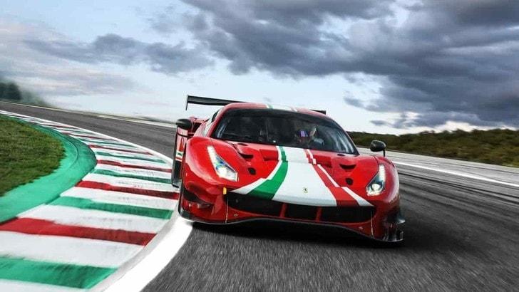 Ferrari 488 GT3 EVO 2020, le novità per il campionato GT