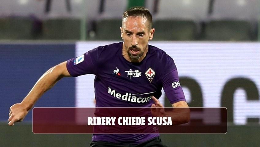 Fiorentina, Ribery chiede scusa