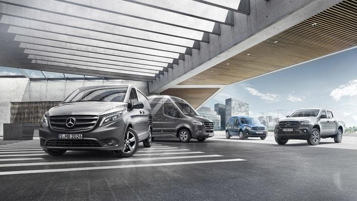 Mercedes, quattro novità digitali per i veicoli commerciali