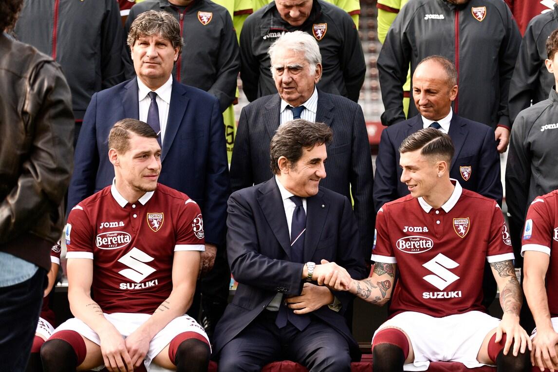 Torino, ecco il backstage della foto ufficiale