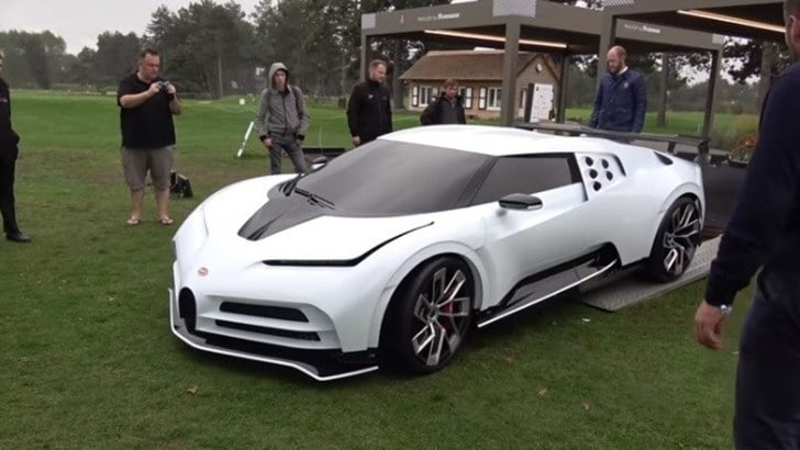 Bugatti Centodieci stupisce per il motore iper-silenzioso: VIDEO
