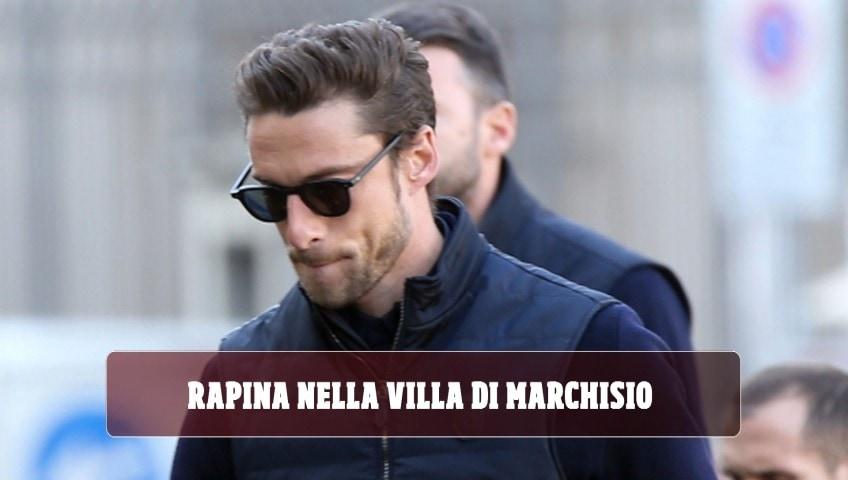 Rapina nella villa di Marchisio