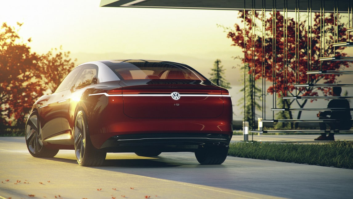 Volkswagen ID Vizzion, gli scatti