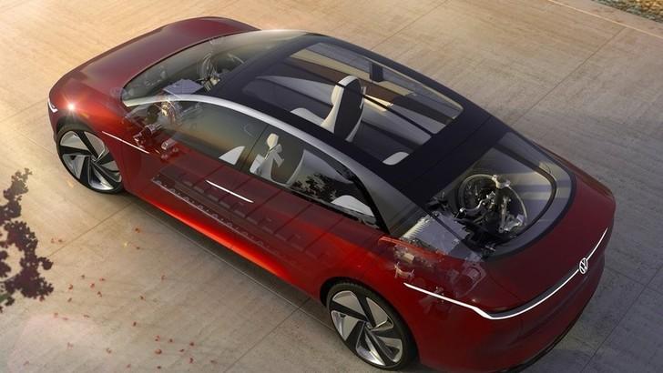 Volkswagen ID.Concept, il nuovo si dice Vizzion