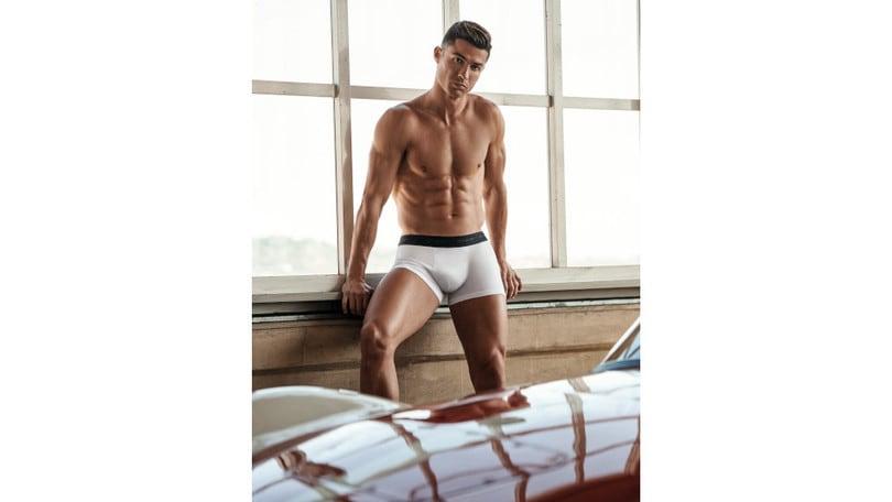 Cristiano Ronaldo e Yamamay ancora insieme per CR7 Underwear