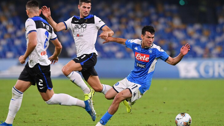 Napoli-Atalanta 2-2, il tabellino