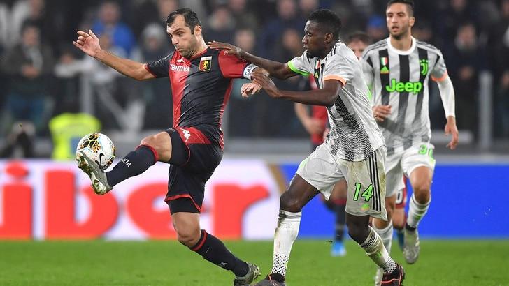 Juventus-Genoa 2-1, il tabellino