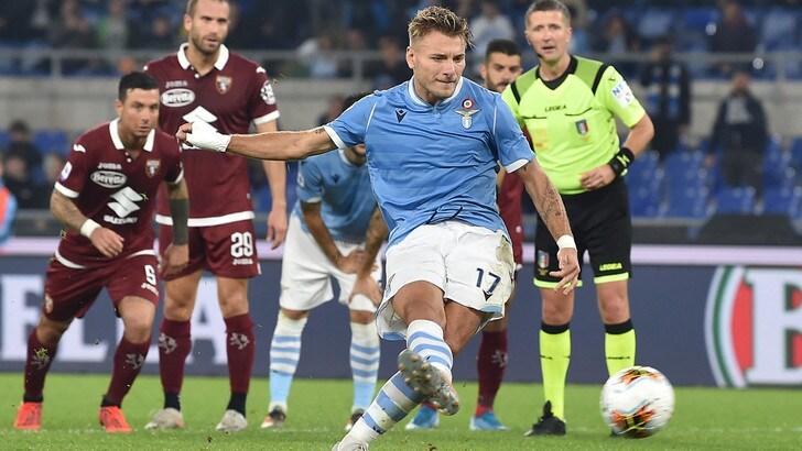 Lazio-Torino 4-0, il tabellino