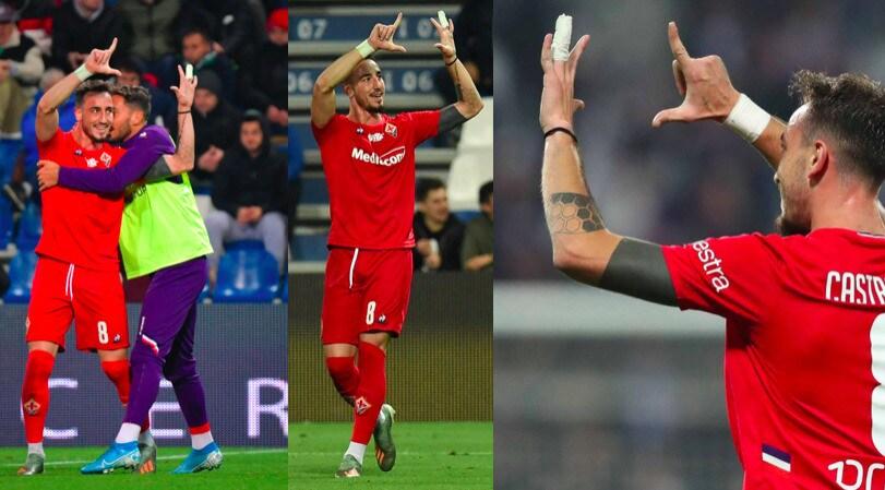Sassuolo-Fiorentina: Castrovilli segna e dedica il gol a Ribery