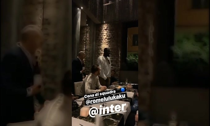 Lukaku organizza una cena per i compagni di squadra