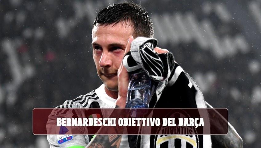 Juventus, Bernardeschi obiettivo del Barcellona