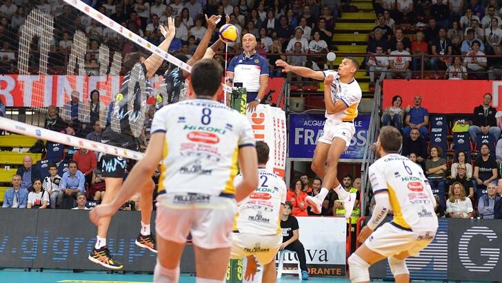 Superlega, domenica in campo solo Verona-Piacenza