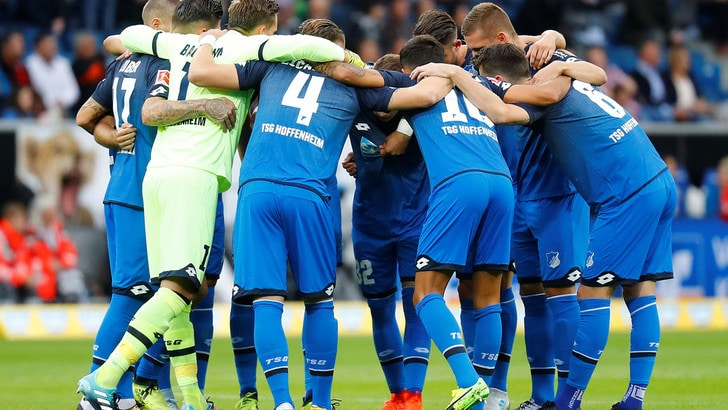 Bundesliga: l'Hoffenheim supera il Paderborn 3-0