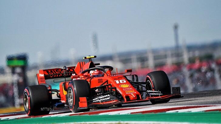Gp Usa: Hamilton e Leclerc comandano le seconde libere