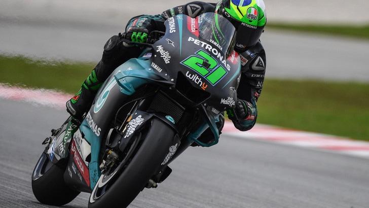 MotoGp Malesia: Morbidelli vola nelle FP4, Valentino Rossi secondo