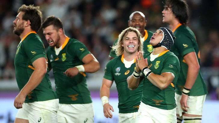 Mondiali, Sudafrica a valanga sull'Inghilterra 32-12: è campione del mondo