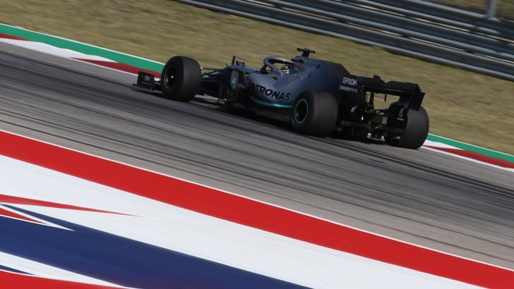 F1, Gp Usa diretta qualifiche ore 22