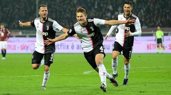 De Ligt risolve il derby, la Juve lascia dietro l'Inter