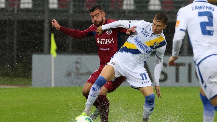 Cittadella e Frosinone non si fanno male: 0-0. Pordenone, 2-1 al Trapani