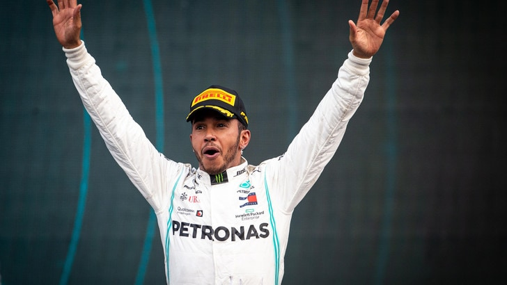 F1, Hamilton campione del mondo per la sesta volta