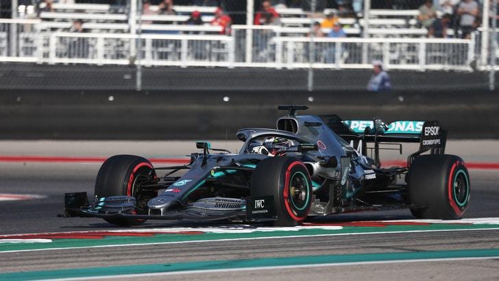 Gp Usa, trionfo Bottas: Hamilton vince il Mondiale, Leclerc quarto