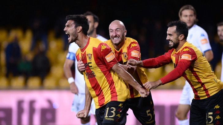 Benevento-Empoli 2-0: i giallorossi non si fermano più