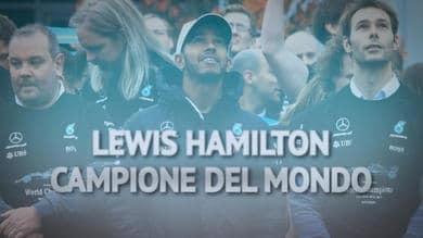 Hamilton 6 grande, tutti i numeri del campione del mondo