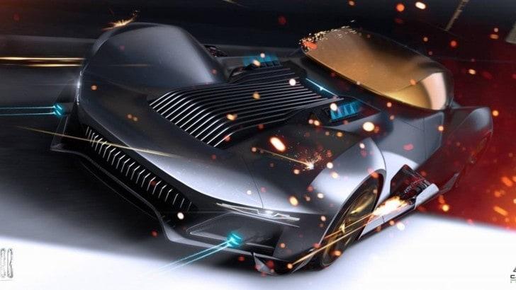 BAT80, il concept di Camal Studio ispirato alla Batmobile