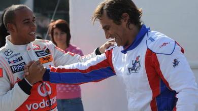 Amarcord Hamilton, sui kart a Lonato con Chiesa, Rosberg e Zanardi