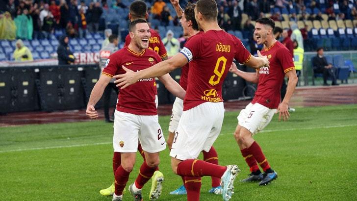 La Roma è rinata: ora è da Champions
