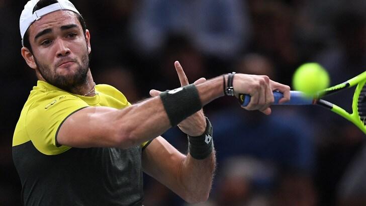 Atp Finals, Berrettini nel gruppo con Federer, Djokovic e Thiem