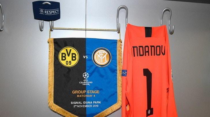 Diretta Borussia Dortmund-Inter ore 21: dove vederla in tv e formazioni ufficiali