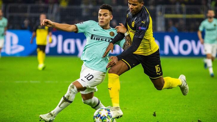 Borussia Dortmund-Inter 3-2, il tabellino