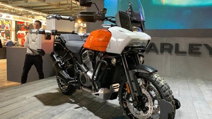 Harley-Davidson a EICMA 2019 con Pan America e Bronx
