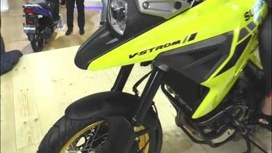 Suzuki V-Strom 1050 all'EICMA: Video