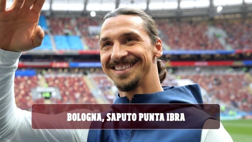 Bologna, Saputo scende in campo per Ibra