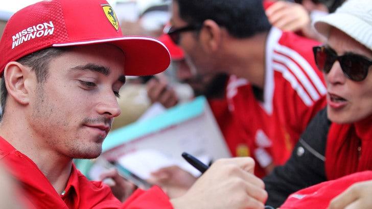 F1, Leclerc nel mondo dei kart con il suo brand